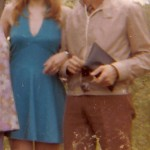 Mes parents en 1973